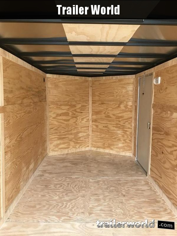2019 CW 7' x 16' x 6.6' Vnose Enclosed Cargo Trailer