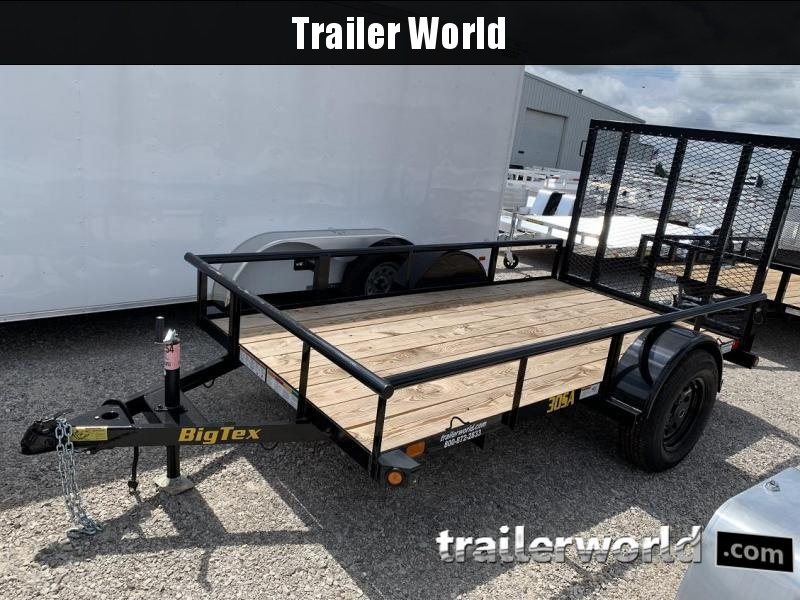 2019 Big Tex 30SA 5' x 10' Utility Trailer