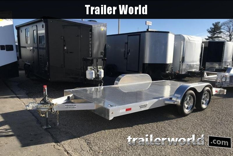 2019 Trailer World 16' Aluminum Open Car Hauler Trailer