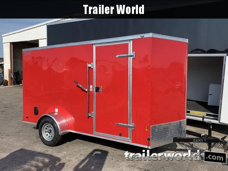 2020 Continental Cargo 6' x 12' x 6.3'  Enclosed Cargo Trailer