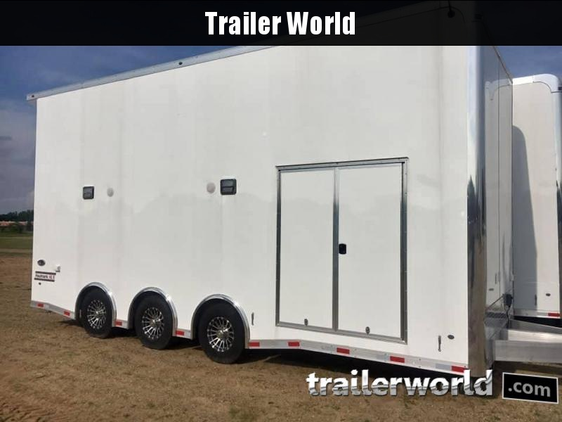 2019 Haulmark Aluminum Stacker 24 Car / Racing Trailer