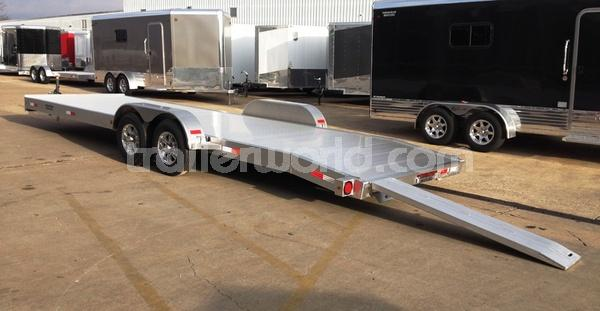 2015 Trailer World 25' Open Aluminum Car Hauler 10k GVWR
