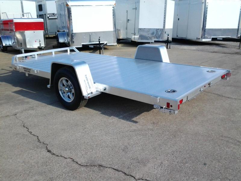 Single Axle Car Hauler : Open car haulers trailer world of bowling green ky