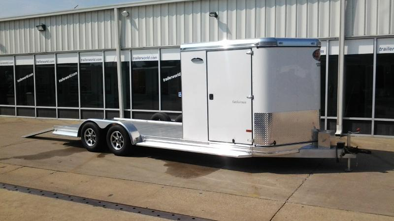 2015 Sundowner Outdoorsman Aluminum Enclosed / Open Trailer