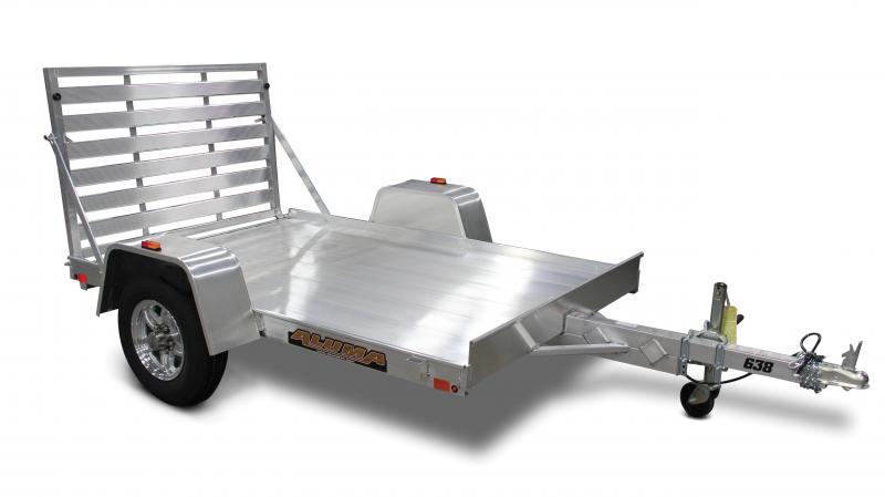 2015 Aluma 638 5' x 8'  Aluminum Utility Trailer