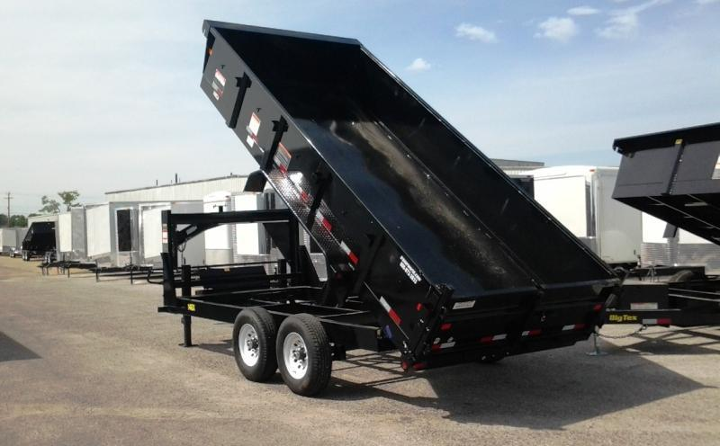 2017 Big Tex Trailers 14GX-16