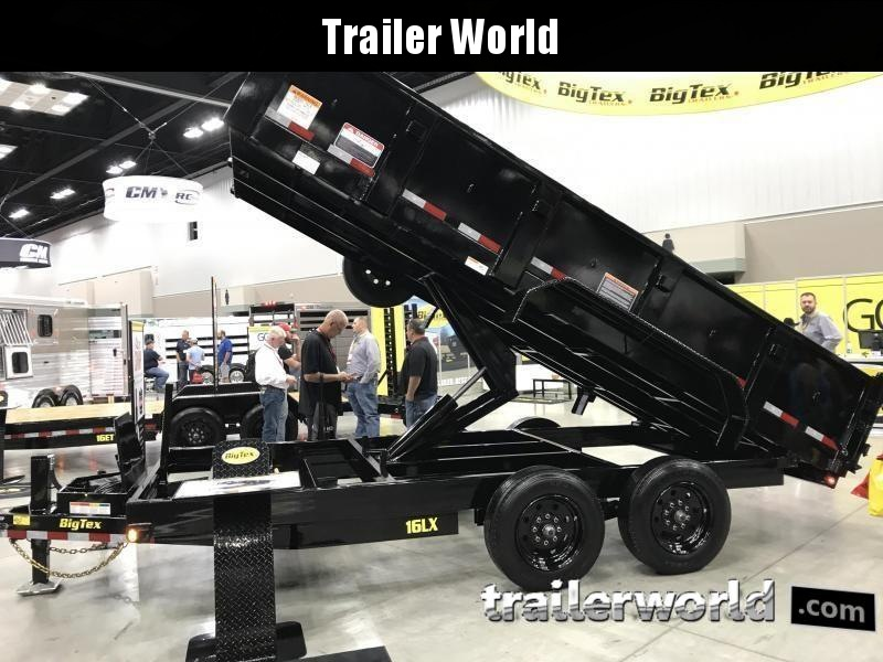 2018 Big Tex NEW MODEL 16LX 16
