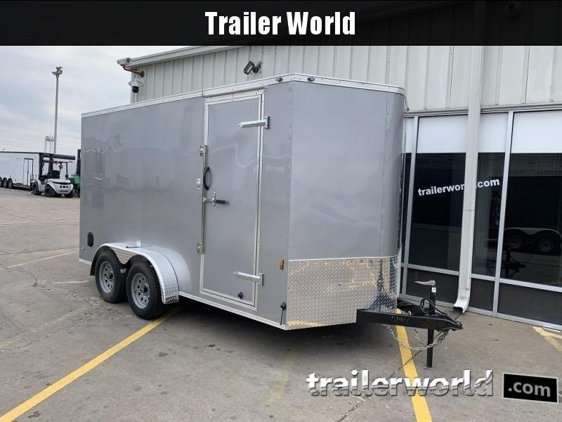 "2020 Continental Cargo 7' x 14' x 6'10"" Vnose Enclosed Cargo Trailer"