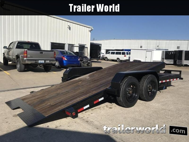 2017 Big Tex Trailers 16TL-20'  16' Tilt Bed + 4' Front Equipment Trailer