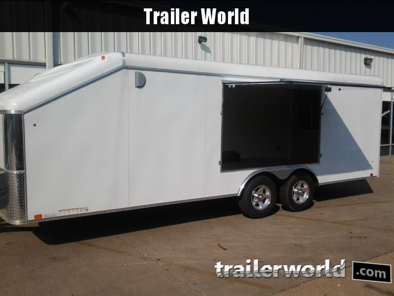 2018 United Trailers 22' Slope Nose Show Car Trailer