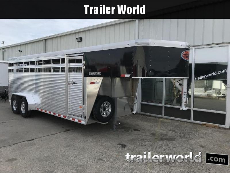 2018 Sundowner Rancher Xpress 20' Livestock Trailer