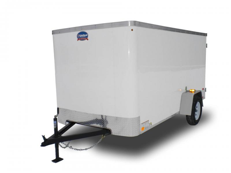 2016 United Trailers XLE 4' x 6' Enclosed Cargo Trailer