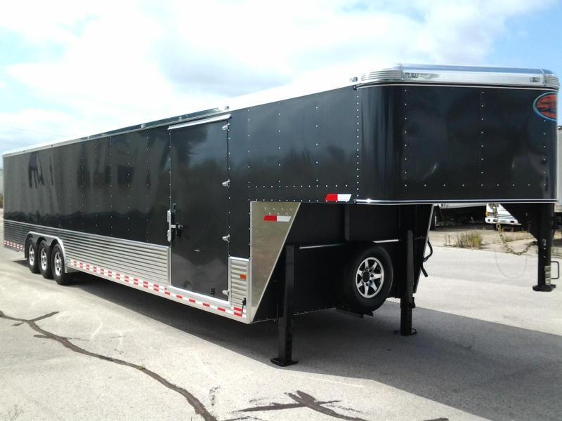 2015 Sundowner 42' Aluminum Gooseneck Car Trailer