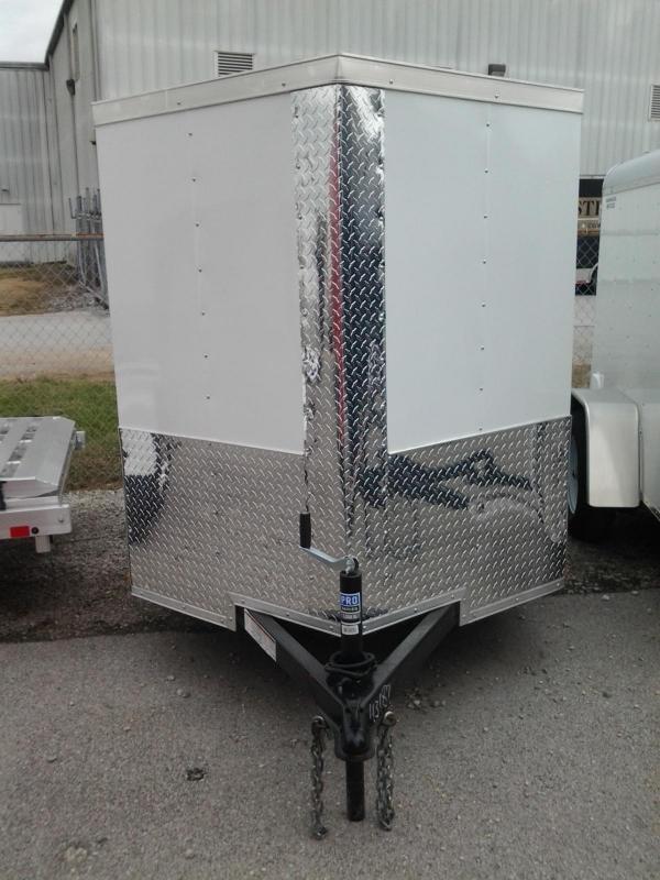 2015 Lark 5' x 10' Vnose Enclosed Cargo Trailer