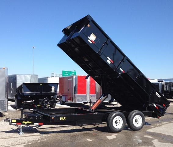 2014 Big Tex Trailers 14LX 16' Dump Trailer