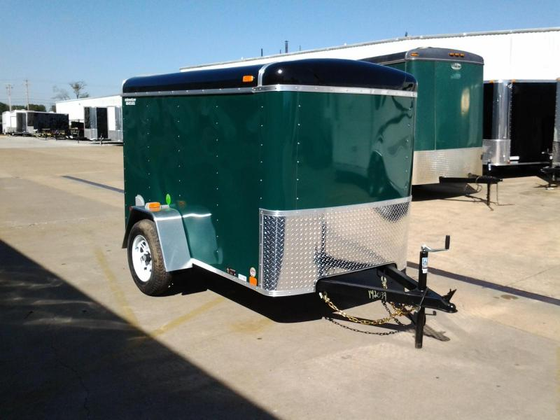 2015 United ULH 5' x 8' Enclosed Cargo Trailer Ramp Door