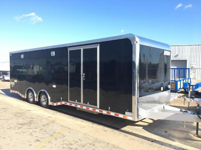 2017 Haulmark 28' Aluminum Enclosed Car / Racing Trailer