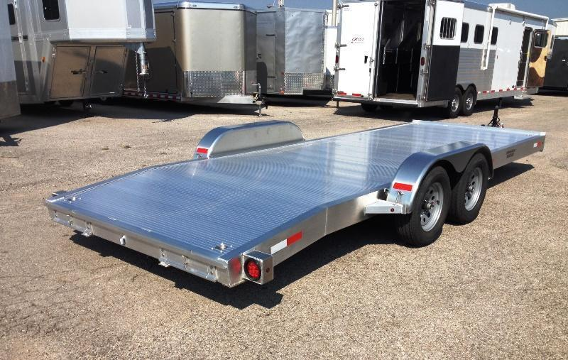 2015 Trailer World 20' Aluminum Open Car Hauler Trailer