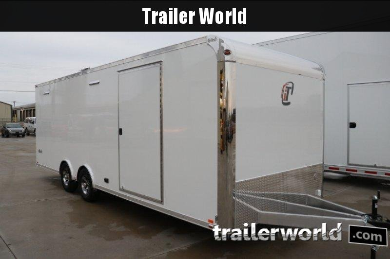 2019 inTech  24' Lite Aluminum Enclosed Car / Race Trailer