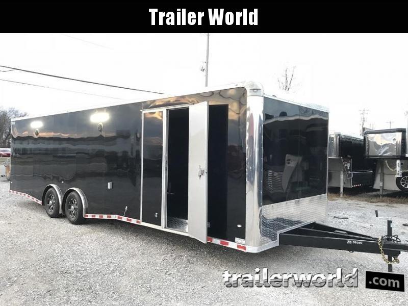 2018 CW 30' Spread Axle Racing Trailer 14k GVWR