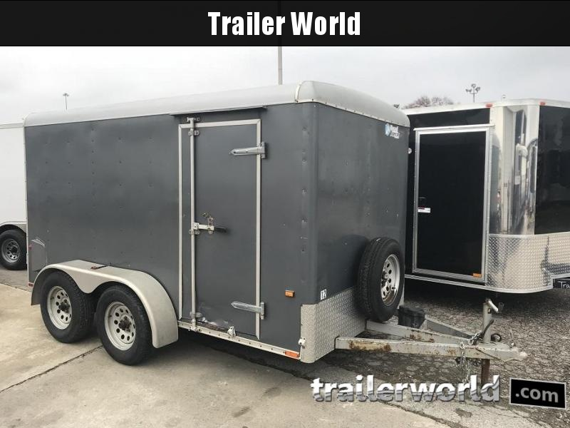 2007 Wells Cargo 6' x 12' Tandem Enclosed Cargo Trailer
