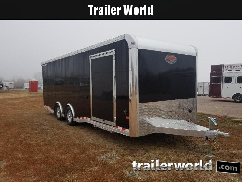 2018 Sundowner 24' Spread Axle Car Aluminum Race Trailer