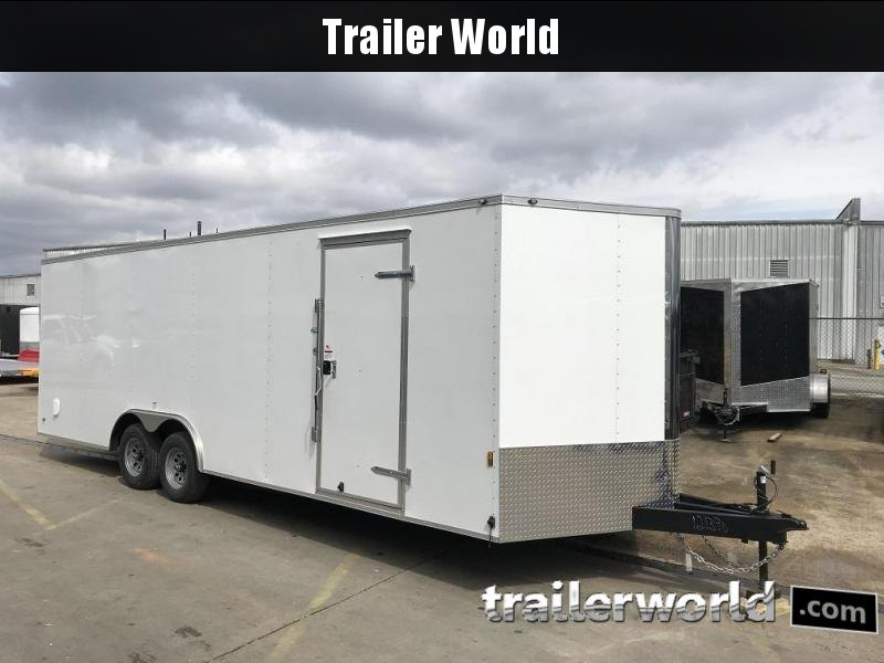 "2019 Forest River Continental 24' V  nclosed Car Trailer 6'9"" inside Height"