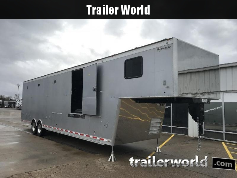 2014 Gold Rush Custom 44' Aluminum Xtreme Toy Hauler