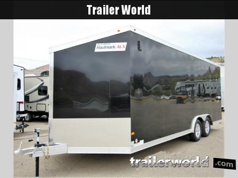 2019 Haulmark HAUV8.5x20WT2 8.5' x 20' x 7' Aluminum Enclosed Car Trailer