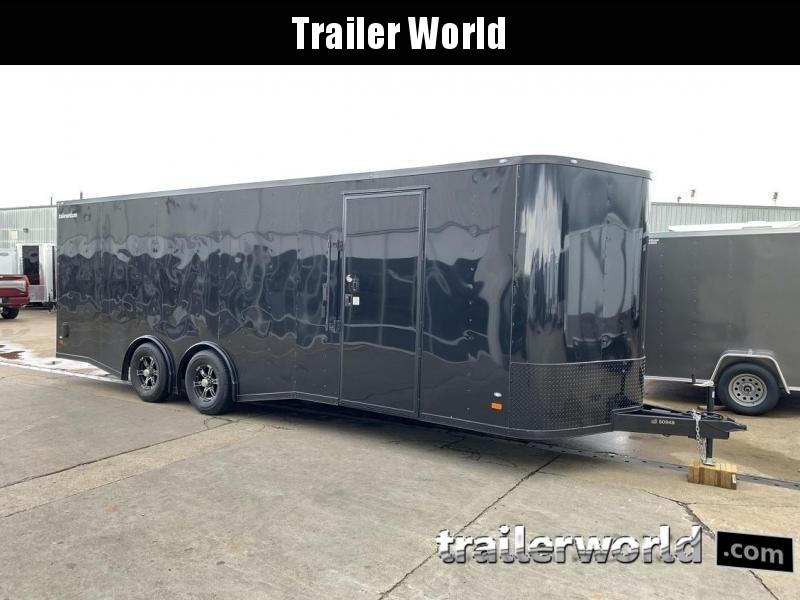 2019 CW 24' Spread Axle Car Trailer 10k GVWR 7' tall