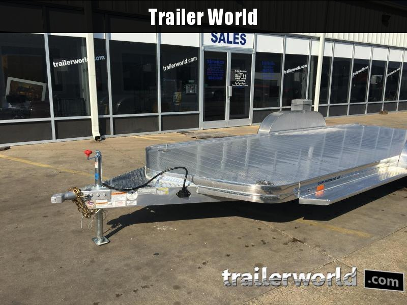 2019 Sundowner 19' Aluminum Tapered Front Open Car Hauler Trailer