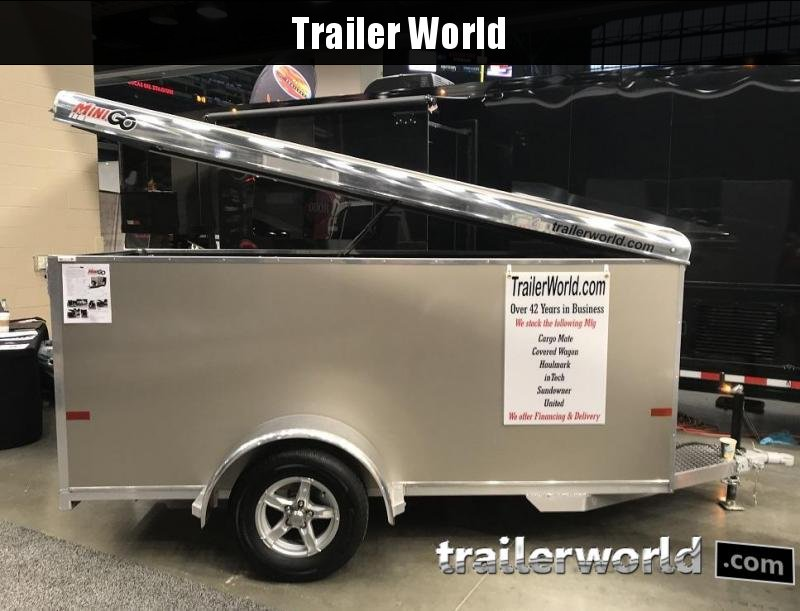 2019 Sundowner 4' x 10' MINI GO Enclosed Aluminum Cargo Trailer