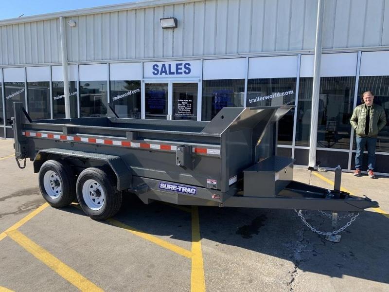 2019 Sure-Trac 6 x 12 Dump Trailer 10k GVWR