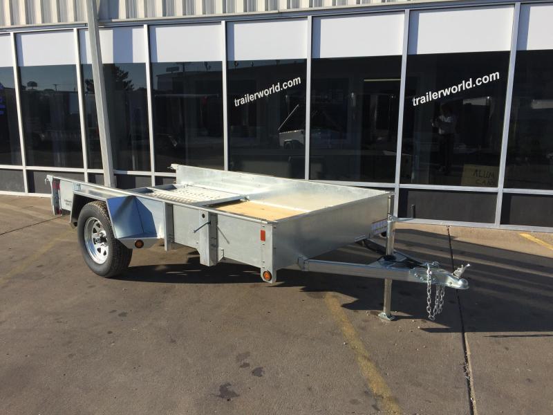 2016 Sure-Trac 5' x 10' Galvinized High Side Utility Trailer