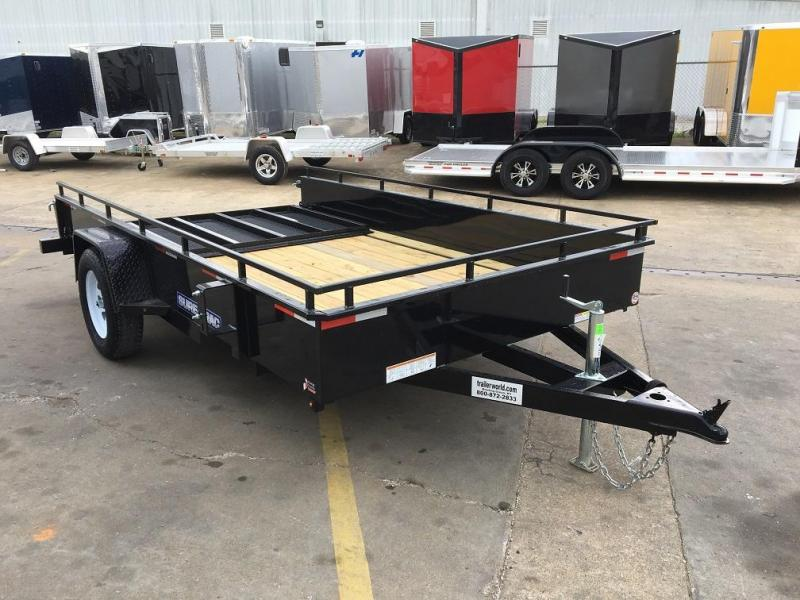 2016 Sure-Trac 7' x 12' Steel High Side Utility Trailer