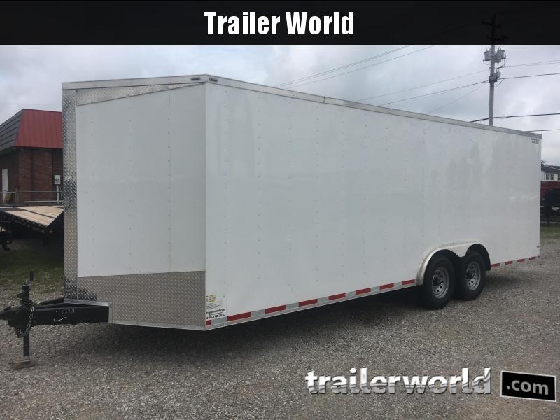 2018 Lark 24V Enclosed Car Trailer 14k GVWR 7