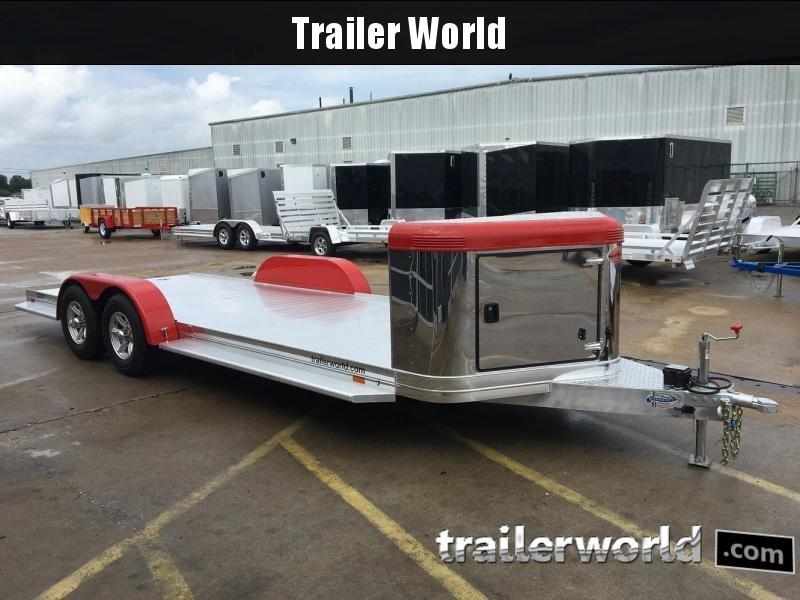 2018 Sundowner ULTRA Aluminum Open Car Hauler Trailer 22