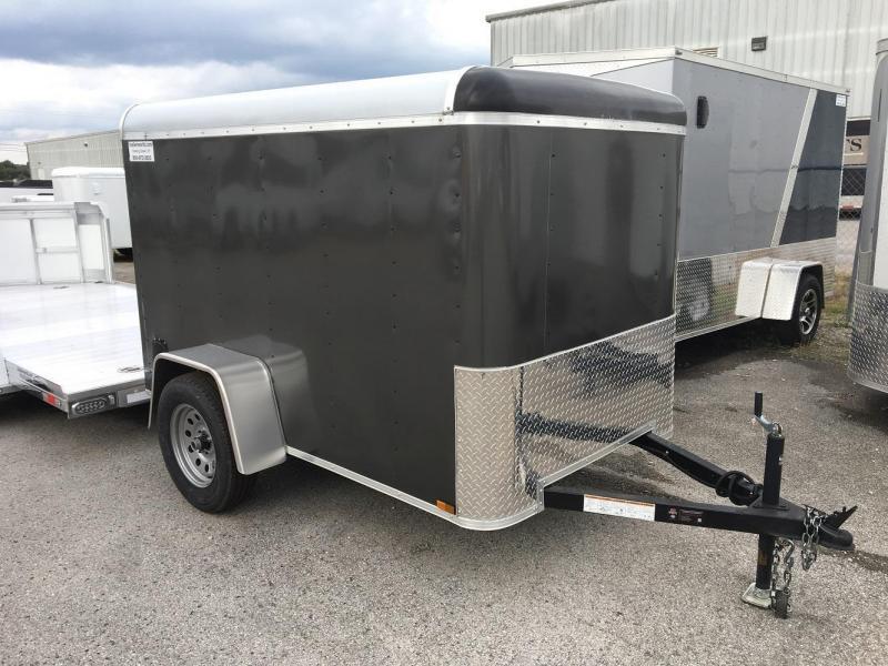 2017 Lark 5' x 8'  Enclosed Cargo Trailer