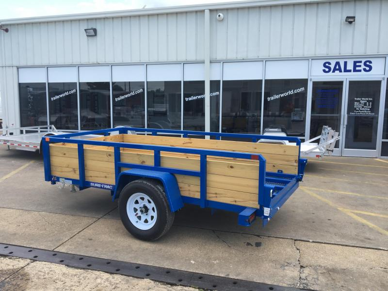 2017 Sure-Trac 5' x 10' High Board Utility Trailer