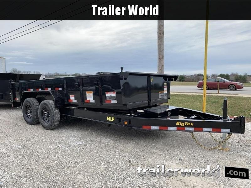 2019 big tex trailers 14lx 14\u0027 dump trailer w 4\u0027 sides \u0026 tarp
