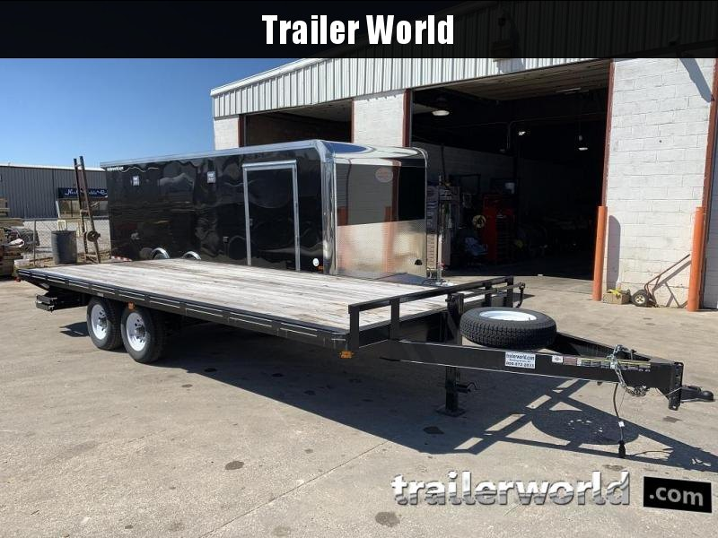 2014 Carry-On Deck Over 8.5 x 20 Utility Trailer