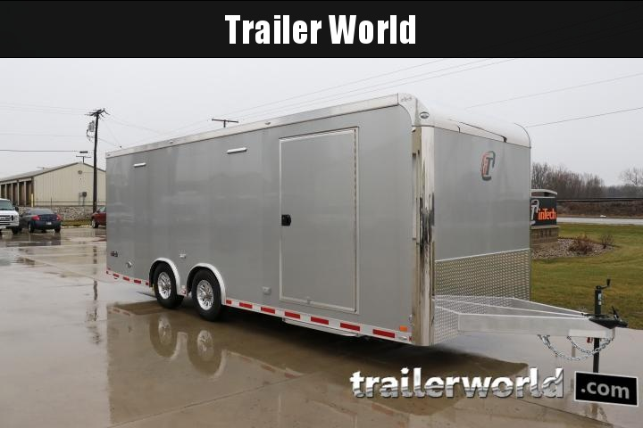 2018 inTech Custom 24' iCon Aluminum Enclosed Car / Race Trailer