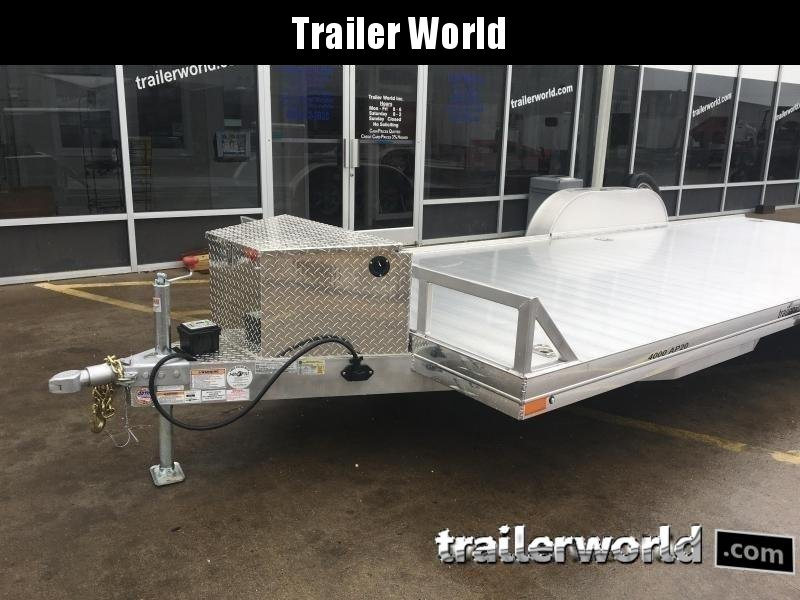2018 Sundowner 4000AP - 22' Aluminum Open Car Hauler Trailer