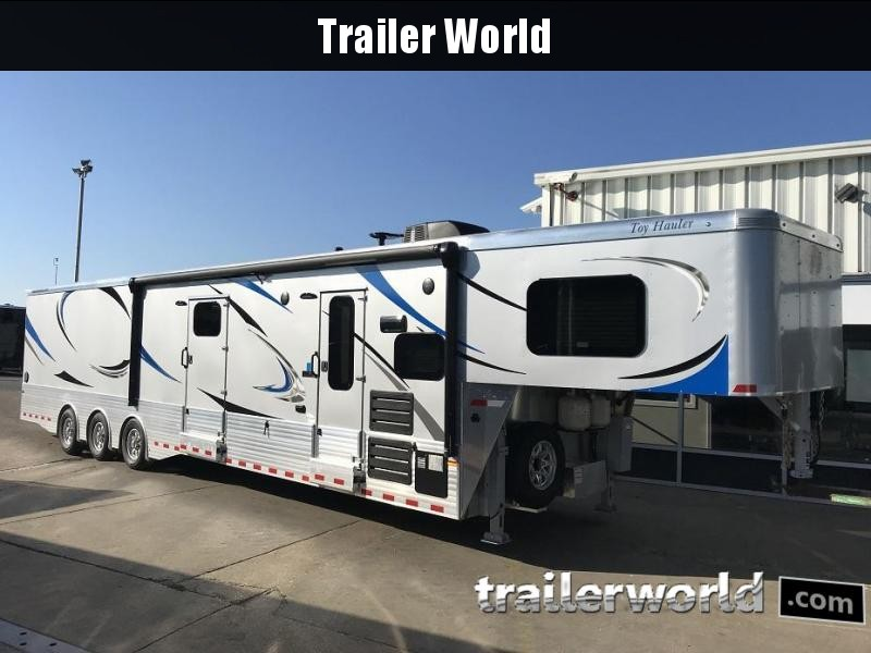 2019 Sundowner Aluminum 1986GM Pro Series Toy Hauler Trailer 24' Garage