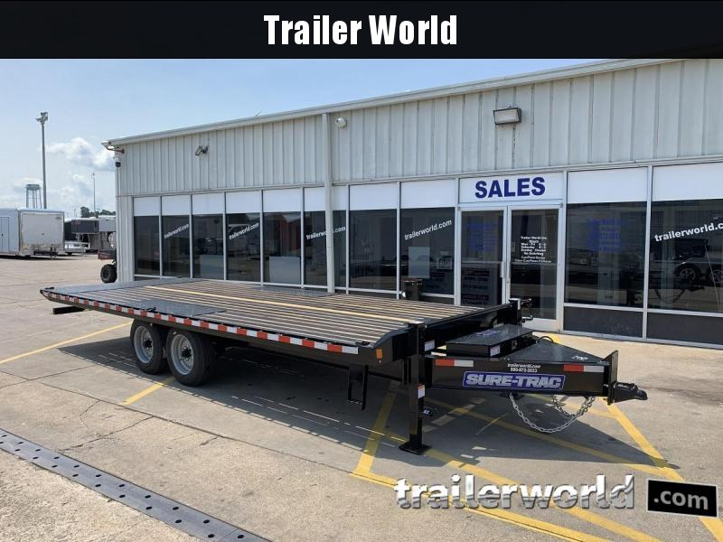 2019 Sure-Trac 102 x 22' Deckover Power Tilt BP 17.6K GVWR