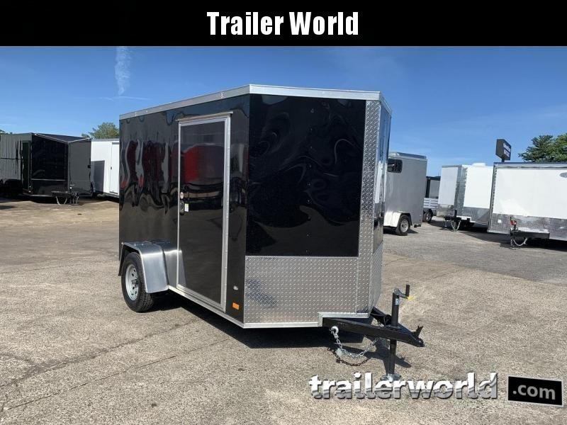 2020 CW  6' x 10' x 6'3 Enclosed Cargo Ramp Door D-Rings