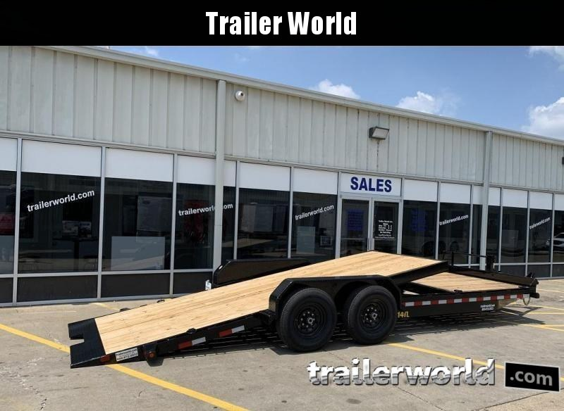 2020 Big Tex 14TL-22' 16' Tilt + 6' Equipment Trailers