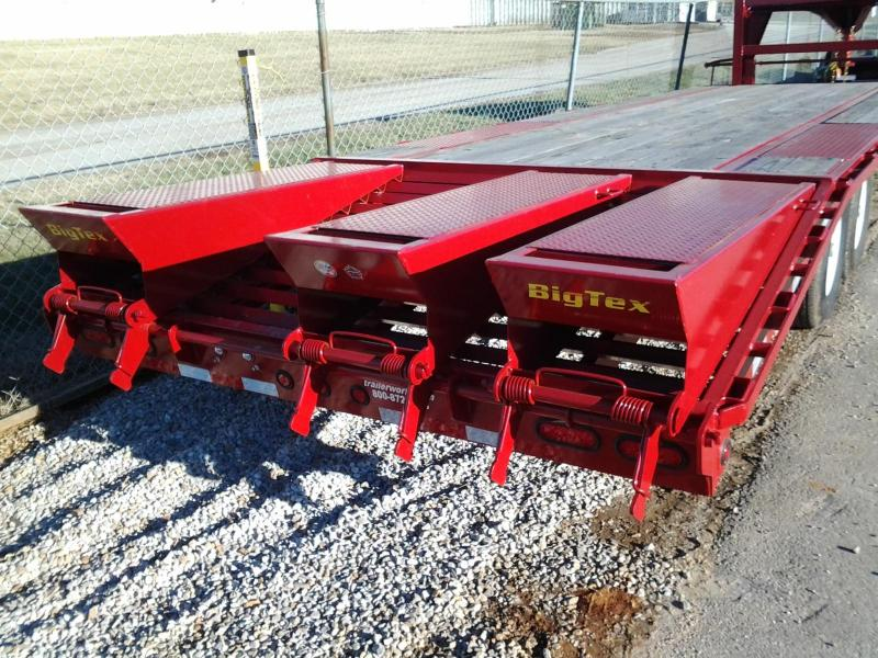 2014 Big Tex Trailers 14GN-22' + 5' Equipment Trailer 3 Ramps