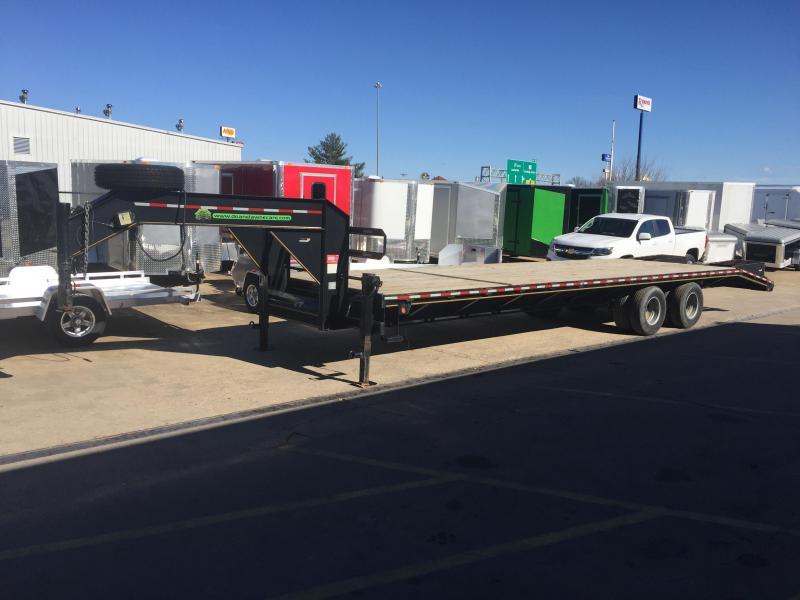 2011 Heartland 27' + 5' 10 Ton Gooseneck Equipment Trailer