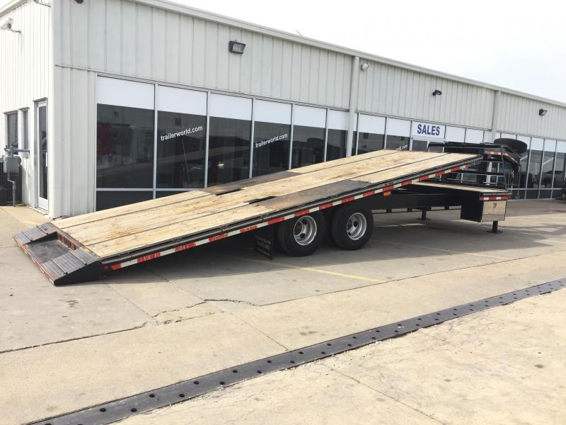 2011 Better Built 10 Ton Tilt Bed Gooseneck Equipment Trailer
